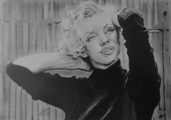 Marilyn Monroe by jonesy12